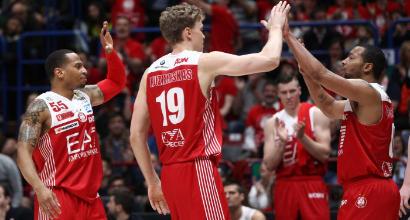 Playoff Serie A Basket: Milano non sbanda in gara-2 dei quarti, Cantù ancora ko