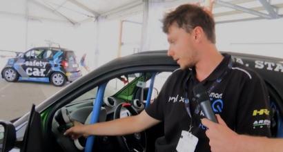 """Smart EQ fortwo e-cup, Jacopo Meroso (ingegnere di pista): """"Ecco come funzionano le Smart da corsa"""""""