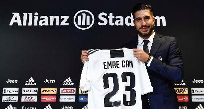 Emre Can si presenta alla Juventus: