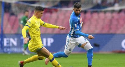 Napoli-Chievo 0-0: Ancelotti (e Insigne) sbattono sul palo