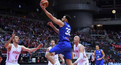 Basket: Italia travolta dalla Polonia, niente pass Mondiale