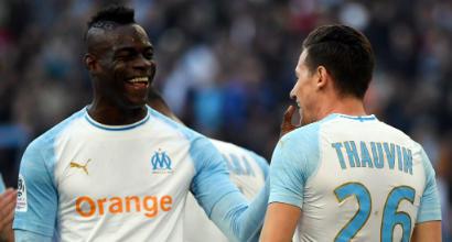 Ligue 1: il Marsiglia vola al quarto posto con Balotelli, vince il Monaco, Nizza k.o.