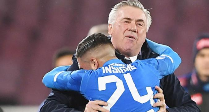 Napoli, Ancelotti recupera Insigne: Arsenal nel mirino
