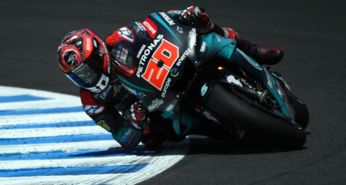 MotoGP, test Jerez: Quartararo davanti a tutti, attardati Valentino Rossi e le Ducati