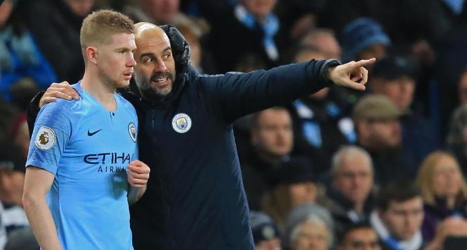 """Manchester City, De Bruyne a Guardiola: """"Sei un allenatore di m...a, sai solo vincere"""""""