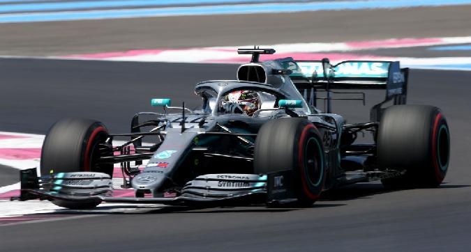 F1, pole di Hamilton in Francia
