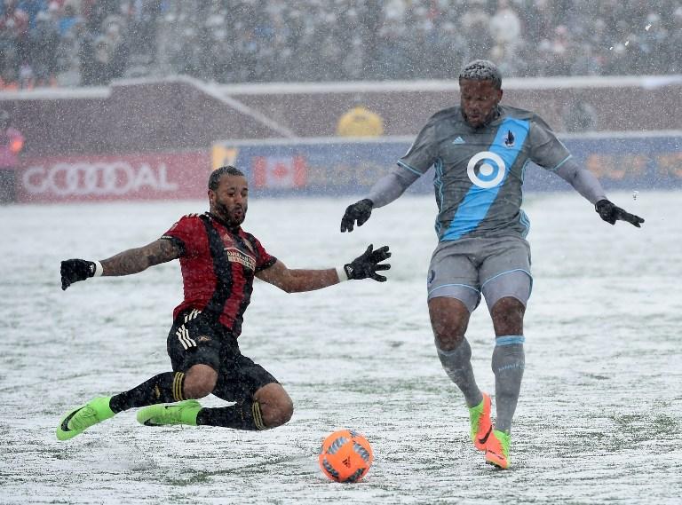 Mls, Minnesota-Atlanta 1-6 in mezzo alla neve: le foto del match