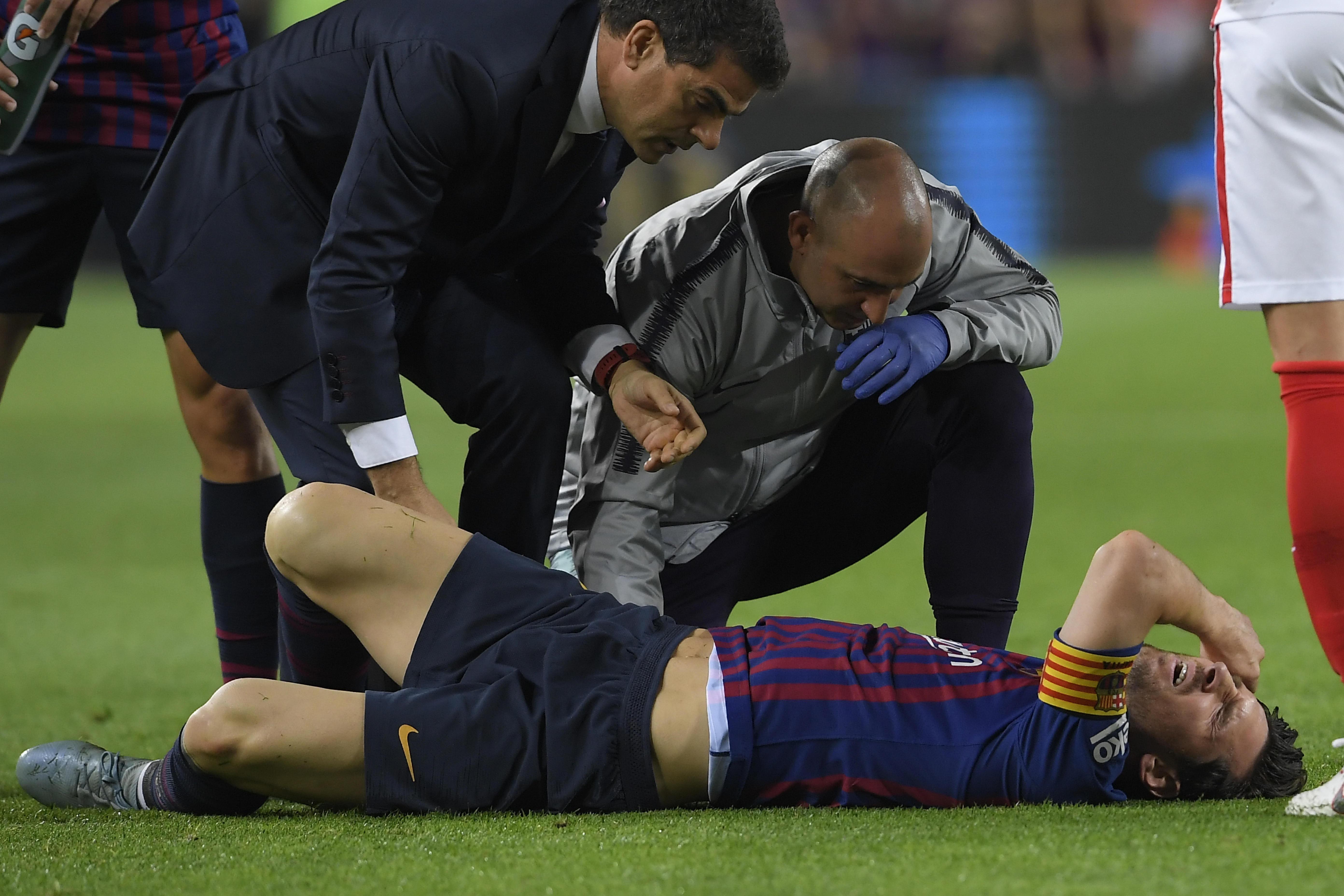 Barcellona, allarme Messi: ko a pochi giorni dall'Inter