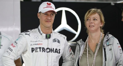 Sabine Kehm e Michael Schumacher, Ipp