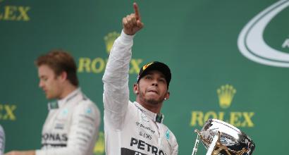 """F1, Hamilton: """"Aiuto a Rosberg? Se me lo chiede Wolff..."""""""