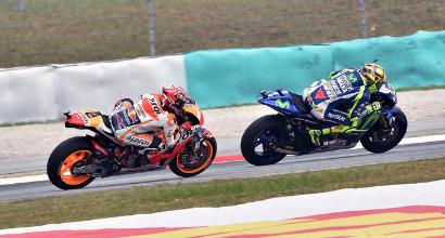 Rossi-Marquez, situazione fuori controllo