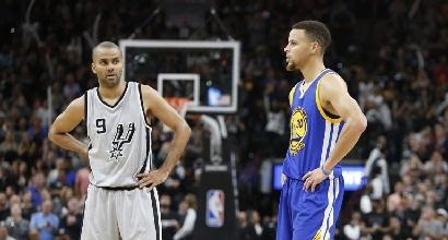 Nba: big match agli Spurs, Warriors ko