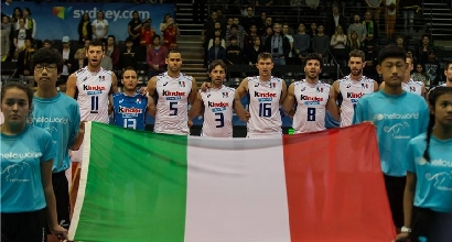 Volley, riscatto per l'Italia