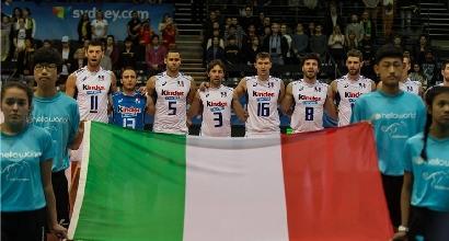 Volley, riscatto per l'Italia