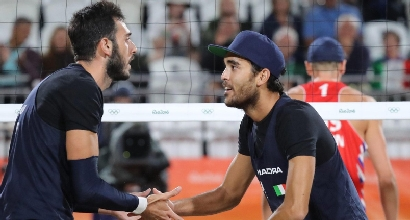 BEACH VOLLEY: LUPO-NICOLAI IN SEMIFINALE