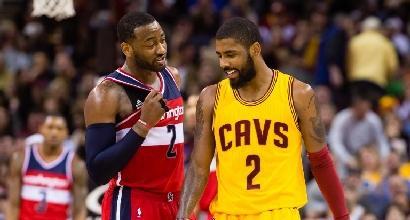 NBA: spettacolo Wizards, Cavs al tappeto