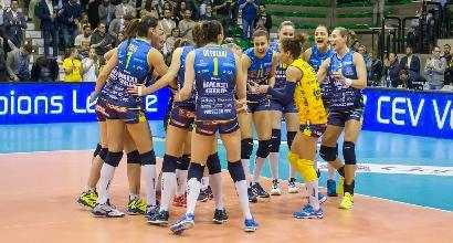 Volley, Champions donne: Conegliano da applausi, è in finale