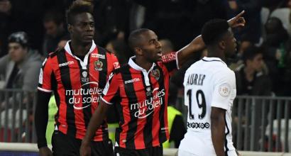 Ligue 1: il Nizza batte il Psg, Monaco verso il titolo