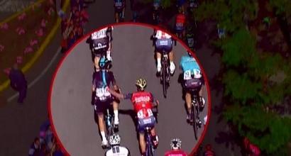Giro d'Italia: squalificato Moreno, gregario di Nibali