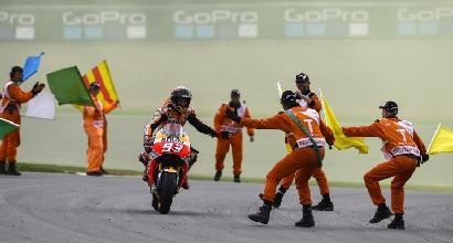 MotoGP, le pagelle del Sachsenring: Marquez padrone, baratro Iannone
