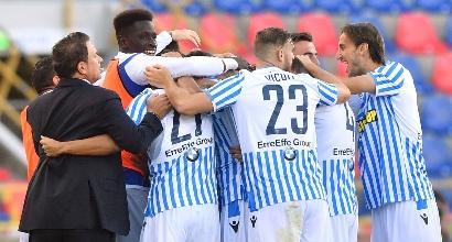 Serie A: la Spal batte 1-0 il Parma ed è a punteggio pieno
