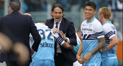 """Lazio, Simone Inzaghi esulta: """"Ci siamo riscattati, bravi i ragazzi"""""""