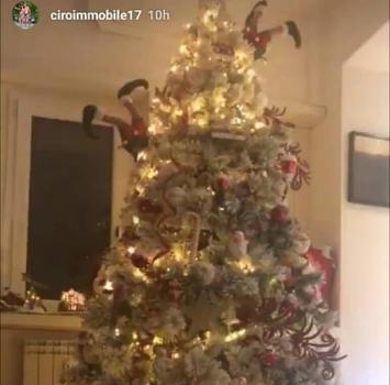 Lazio, Immobile su Instagram: