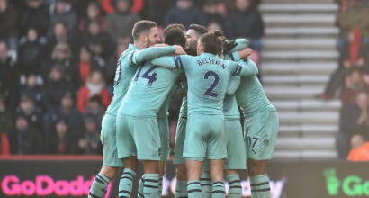Premier, Bournemouth-Arsenal 1-2: Gunners a un punto dalla Champions