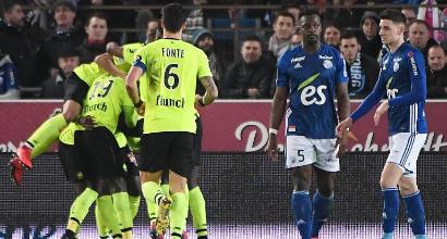 Ligue 1: il Lille rallenta a Strasburgo, sorride il Psg