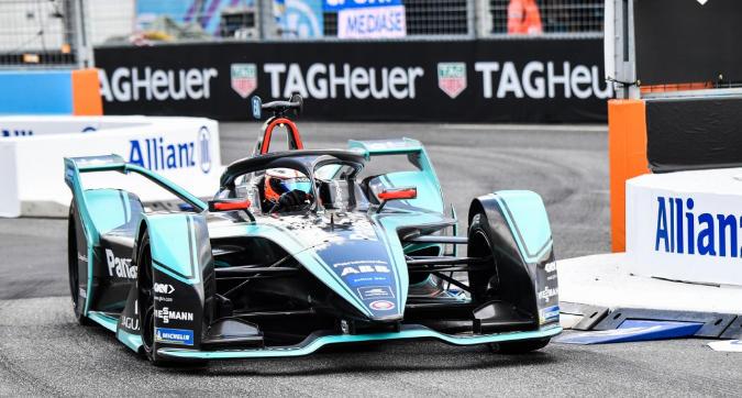Formula E, Evans vince a Roma