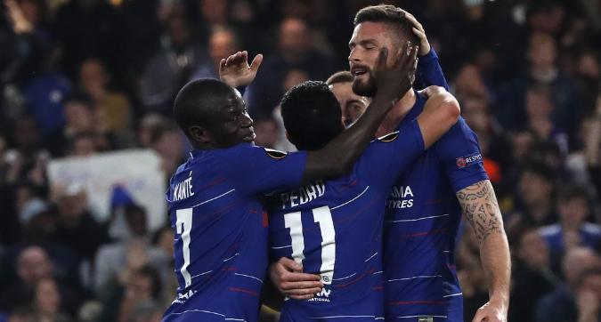 Europa League: Chelsea in semifinale con il brivido, impresa Eintracht con il Benfica