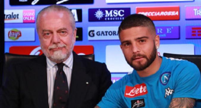 """Napoli, De Laurentiis boccia la Superlega e stuzzica Insigne: """"Un vero capitano..."""""""