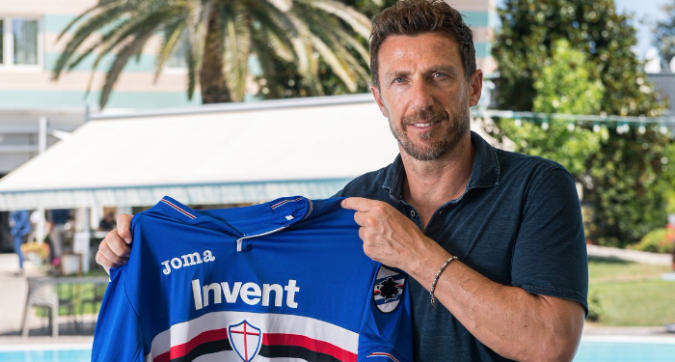 Sampdoria, Di Francesco si presenta: