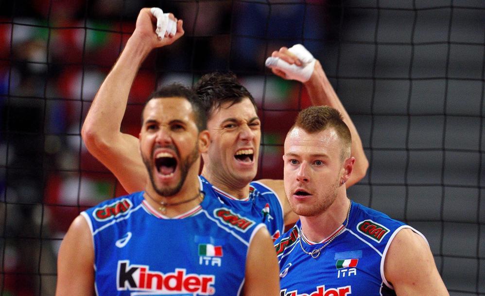 Eurovolley: l'Italia si ferma in semifinale