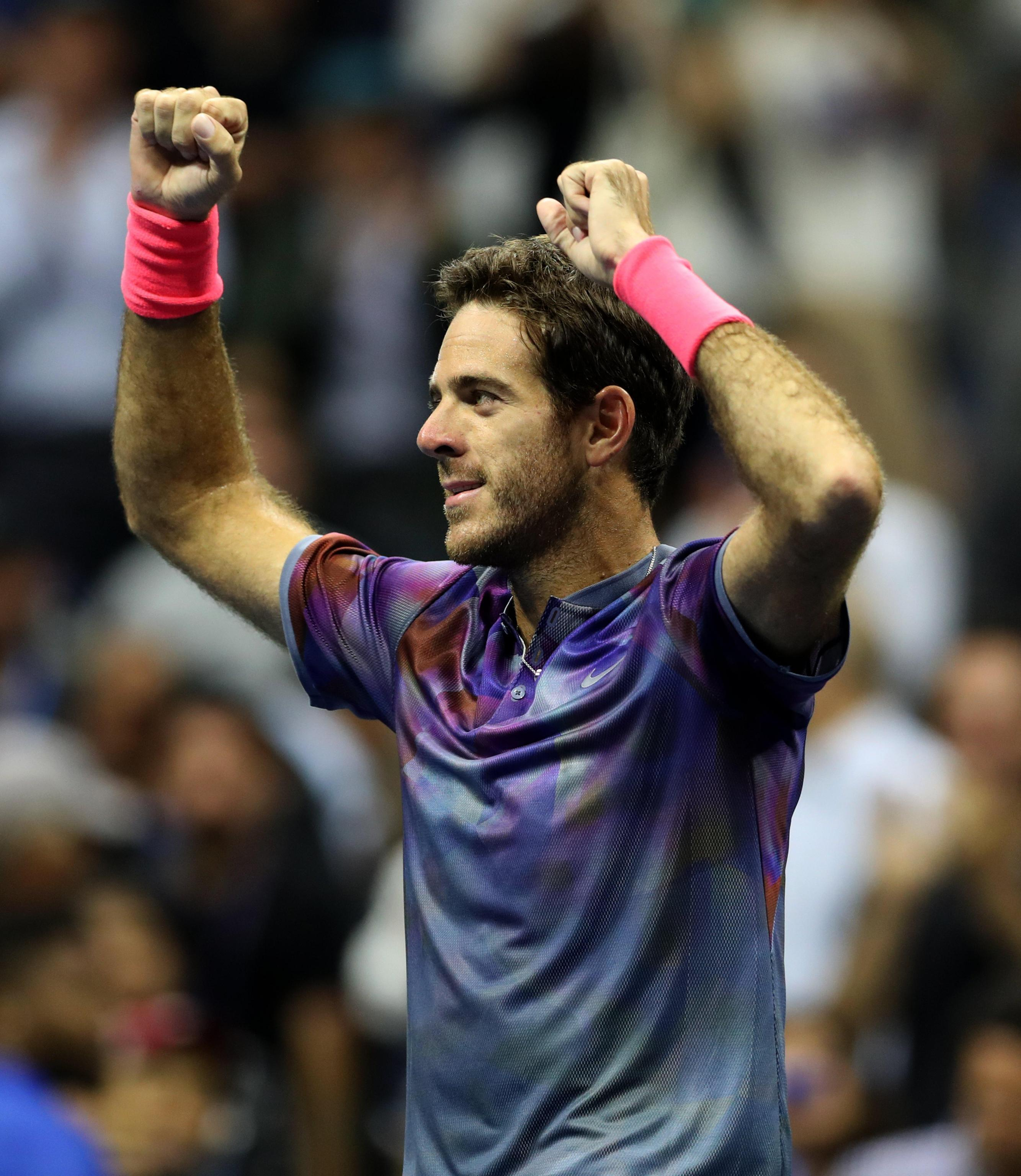 Us Open, Del Potro batte Federer