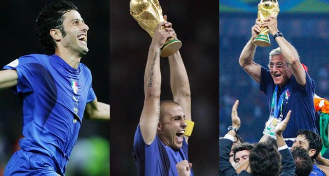Italia campione del mondo 2006, cosa fanno oggi gli azzurri