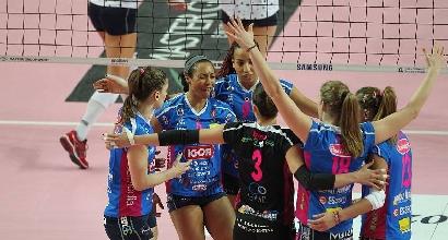 Volley, A1 femminile: Casalmaggiore ko, il tie-break premia Novara