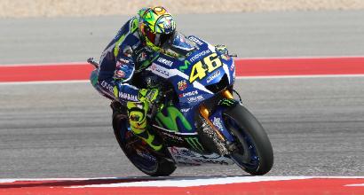 """MotoGP in Texas, Rossi: """"Prima fila fondamentale"""""""