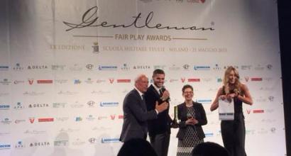 Bonaventura vince il Premio Gentleman 2016