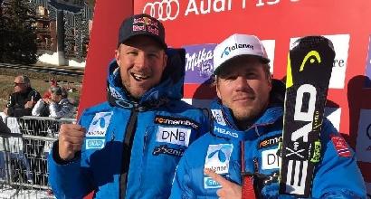 Sci, SuperG uomini: Jansrud vince davanti a Svindal. Terzo Paris