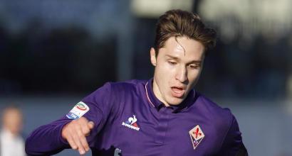 Aveva disegnato Chiesa a scuola, la Fiorentina invita il piccolo fan allo stadio