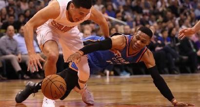 NBA: Westbrook nella storia, Gallinari vede i playoff