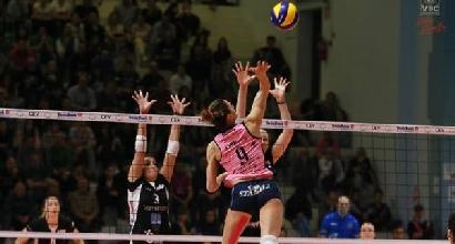 Volley, playoff A1 femminile: Casalmaggiore in semifinale, Busto si inchina