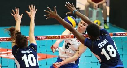 Volley femminile, qualificazioni Mondiali: tris Italia, Lettonia asfaltata