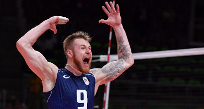 Volley, Italia: Zaytsev salta l'Europeo, ritirata la sua convocazione