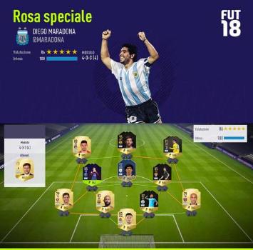 Maradona lascia fuori Icardi anche a Fifa 18