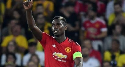 Champions League, Young Boys-Manchester Utd 0-3: Pogba trascina i 'Red Devils'