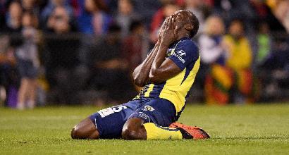 """L'Australia boccia Bolt: """"Non sa stoppare la palla, ha il tocco di un trampolino!"""""""