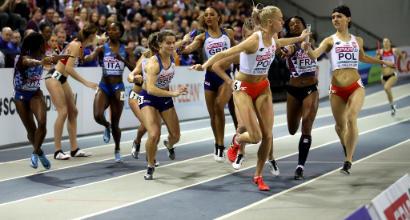 Atletica, seconda medaglia azzurra agli Europei indoor: 4x400 donne di bronzo