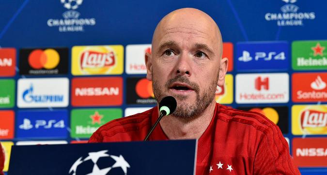 """Champions, Ten Hag: """"Ajax, vai ancora oltre i limiti"""""""